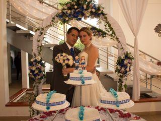 El matrimonio de Nina y Álex