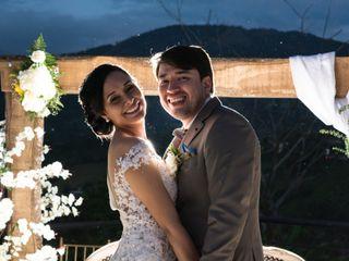 El matrimonio de Ivana y Óscar
