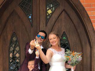 El matrimonio de Nati y Dani