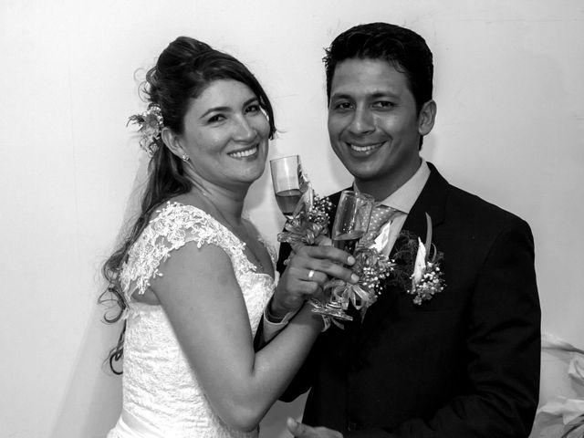 El matrimonio de Francides y Luis