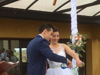 El matrimonio de Gustavo y Mónica  1