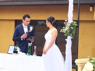 El matrimonio de Gustavo y Mónica