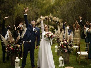 El matrimonio de Andrea y Jonathan  1