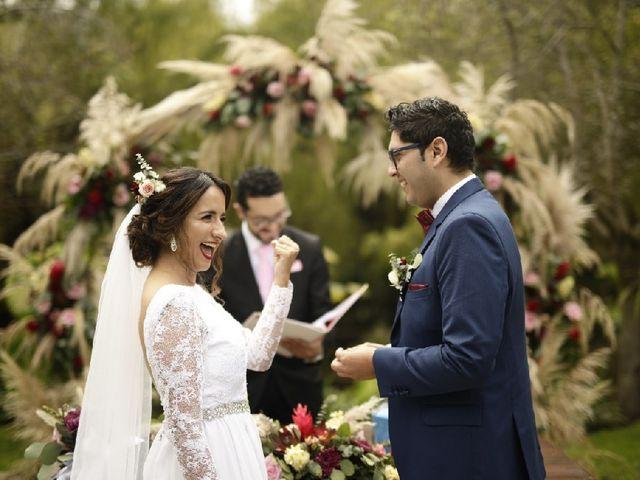 El matrimonio de Andrea y Jonathan