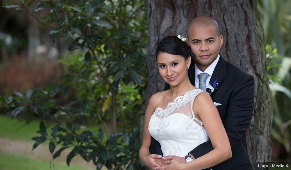 El matrimonio de Gareth y Diana en Chía, Cundinamarca