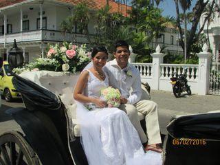 El matrimonio de Melissa y Carlos 1