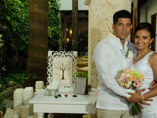El matrimonio de Melissa y Carlos