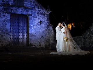 El matrimonio de Clara y Fabio