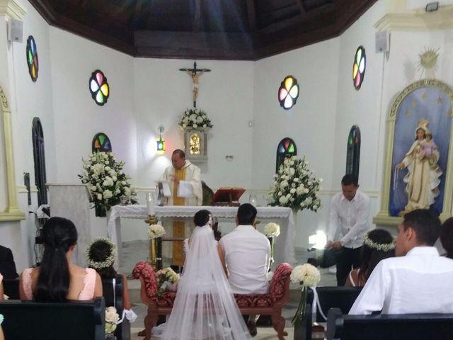 El matrimonio de Carlos y Melissa en Cartagena, Bolívar 4