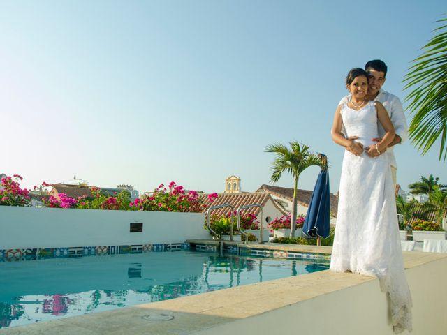 El matrimonio de Carlos y Melissa en Cartagena, Bolívar 1