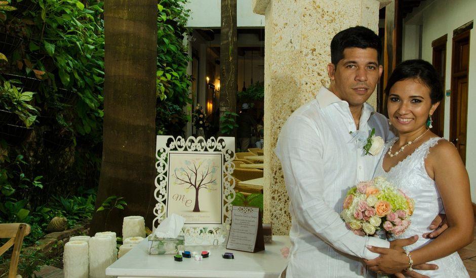El matrimonio de Carlos y Melissa en Cartagena, Bolívar