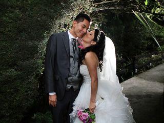 El matrimonio de Bibiana y Miller