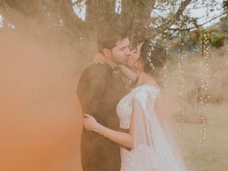 El matrimonio de Clara y Mario