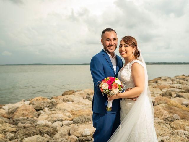 El matrimonio de Jhobani y Jakeline en Cartagena, Bolívar 1