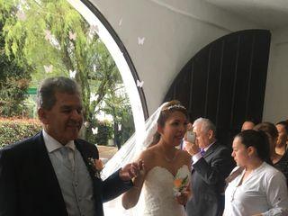 El matrimonio de Andrea  y Alejandro  1