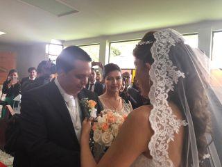El matrimonio de Andrea  y Alejandro  3