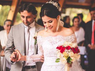 El matrimonio de Angélica y Ubaldo