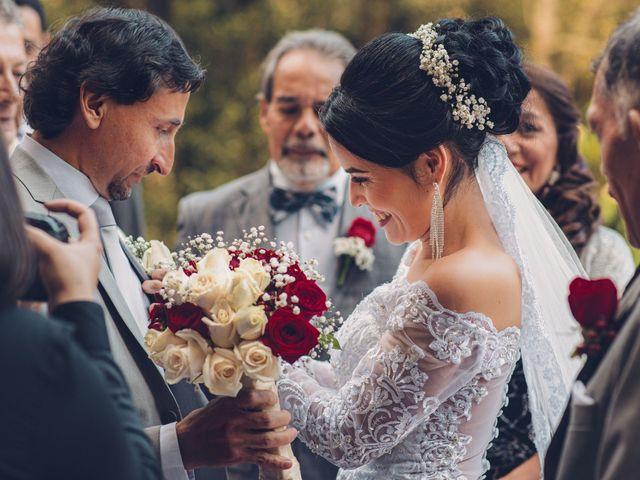 El matrimonio de Ubaldo y Angélica en La Calera, Cundinamarca 1