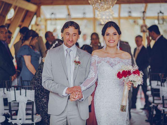 El matrimonio de Ubaldo y Angélica en La Calera, Cundinamarca 43