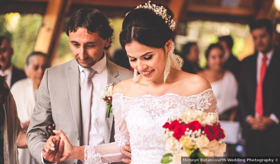El matrimonio de Ubaldo y Angélica en La Calera, Cundinamarca