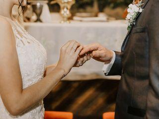 El matrimonio de Isabella y Sebastián 3