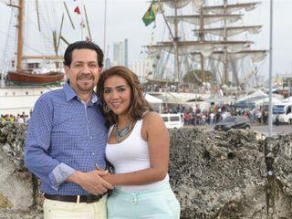 El matrimonio de María Alejandra y Robert 1