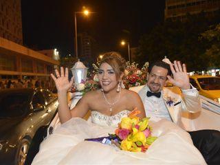 El matrimonio de María Alejandra y Robert