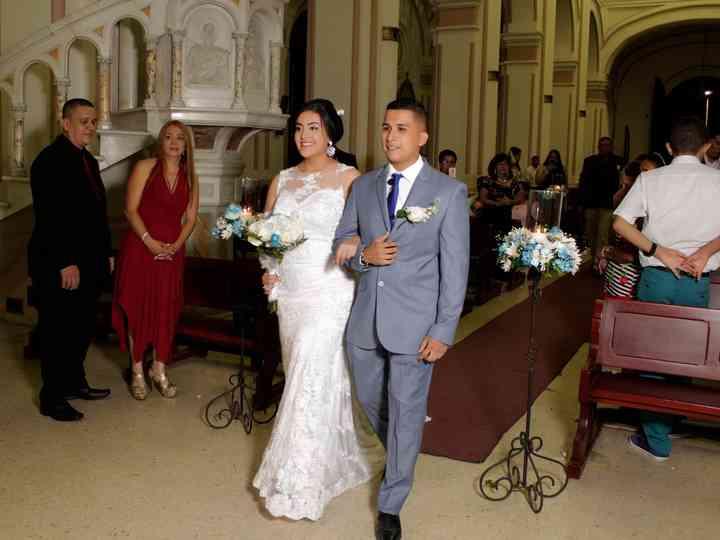El matrimonio de Luisa  y Brayan