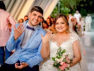El matrimonio de Angie y Xavi
