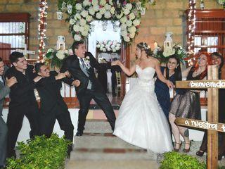 El matrimonio de Mitchell y Sergio