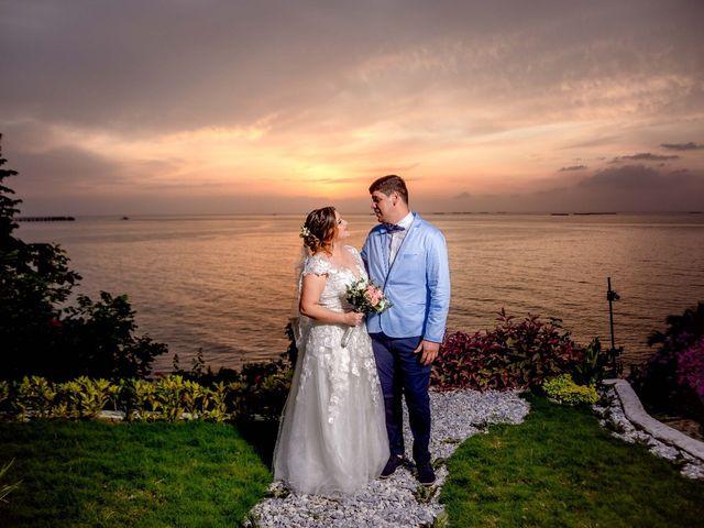 El matrimonio de Xavi y Angie en Santa Marta, Magdalena 11