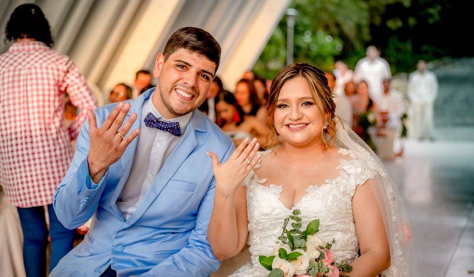 El matrimonio de Xavi y Angie en Santa Marta, Magdalena