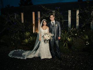El matrimonio de María Alejandra y Julio