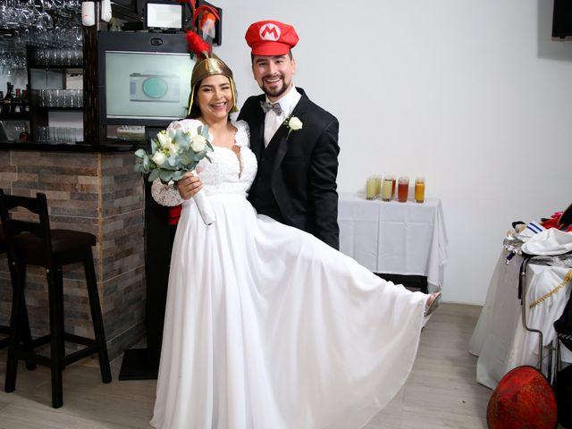 El matrimonio de Fredy y María José en Bogotá, Bogotá DC 20