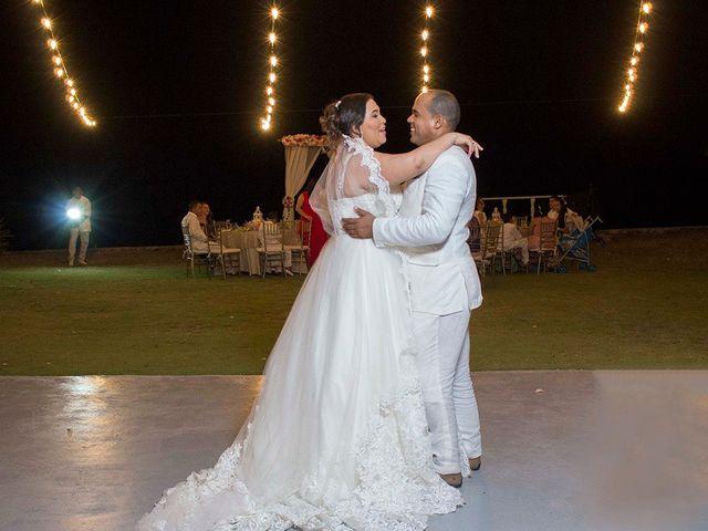 El matrimonio de Lineth y Jonathan