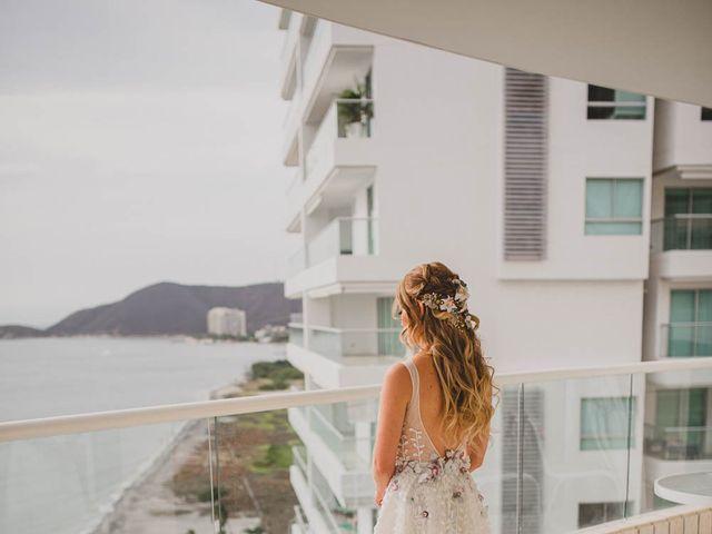 El matrimonio de Brian y Laura en Santa Marta, Magdalena 16