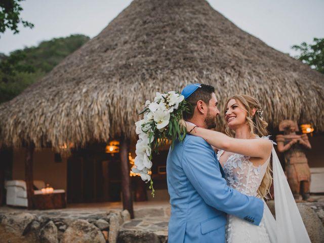 El matrimonio de Brian y Laura en Santa Marta, Magdalena 40