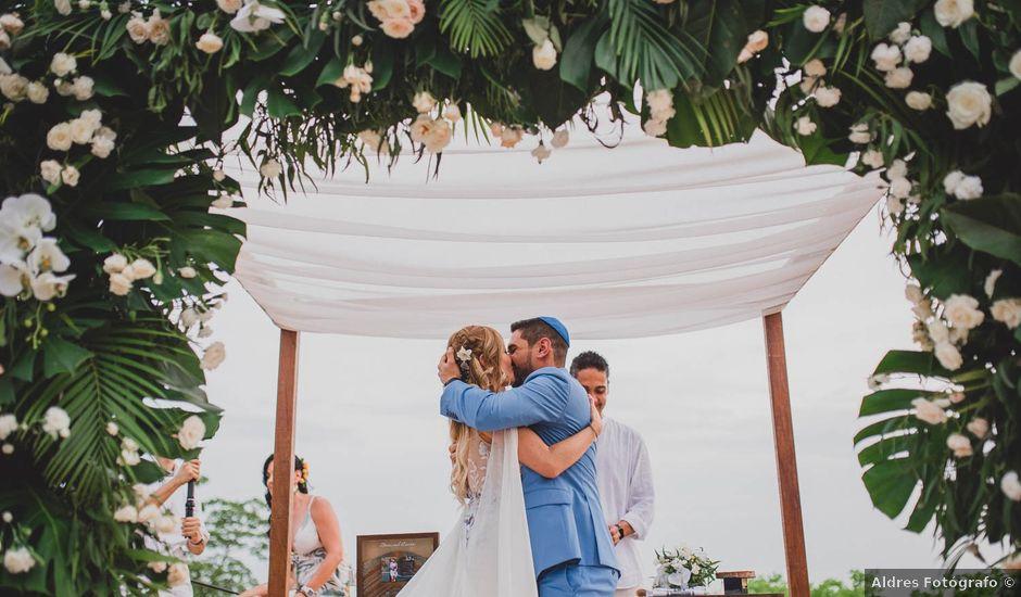 El matrimonio de Brian y Laura en Santa Marta, Magdalena