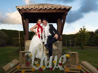 El matrimonio de Catalina y Óscar