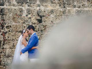 El matrimonio de Ladini y Andrés