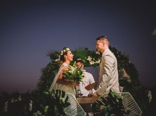El matrimonio de Paulina y Juan