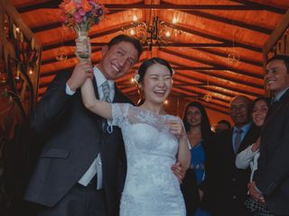 El matrimonio de Mario y Lee