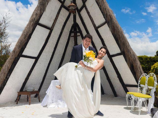 El matrimonio de Óscar y Catalina en Tenjo, Cundinamarca 14