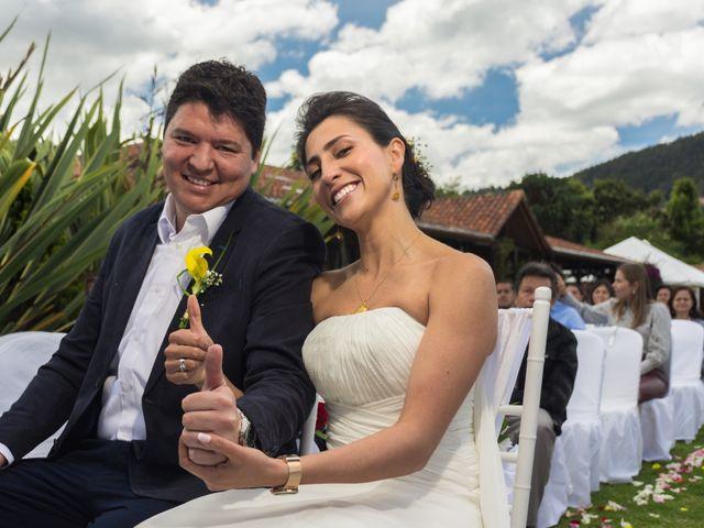 El matrimonio de Óscar y Catalina en Tenjo, Cundinamarca 16