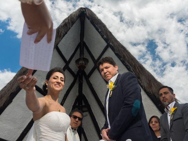 El matrimonio de Óscar y Catalina en Tenjo, Cundinamarca 17