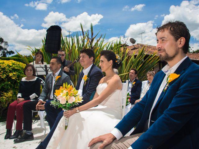 El matrimonio de Óscar y Catalina en Tenjo, Cundinamarca 19