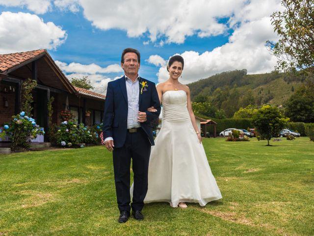 El matrimonio de Óscar y Catalina en Tenjo, Cundinamarca 20
