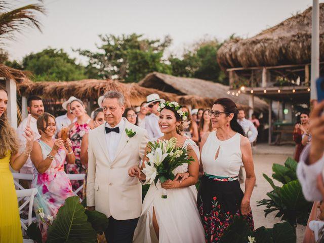 El matrimonio de Juan y Paulina en Cartagena, Bolívar 31