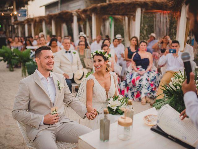El matrimonio de Juan y Paulina en Cartagena, Bolívar 36
