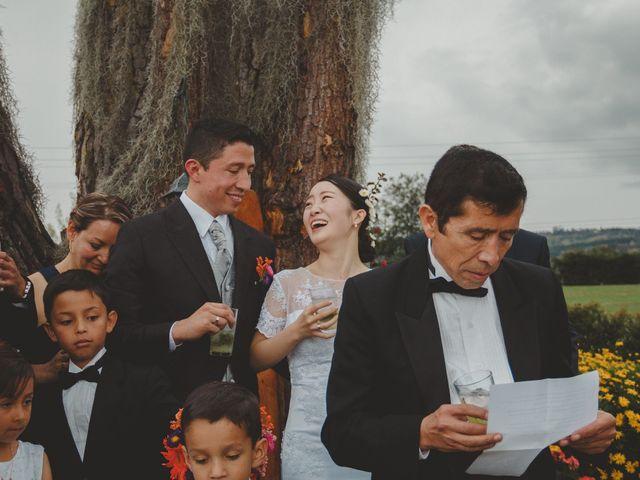 El matrimonio de Lee y Mario en Subachoque, Cundinamarca 43